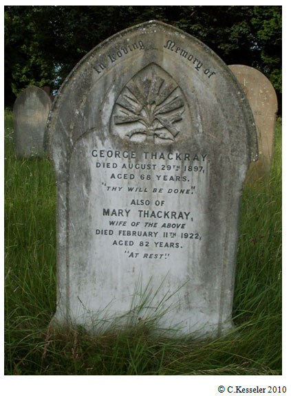 of Godmanchester. George Thackray